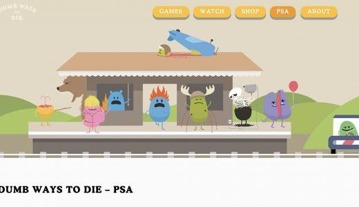 【面白かわいい】Dumb Ways to Dieのゲームとムービー【狂気】